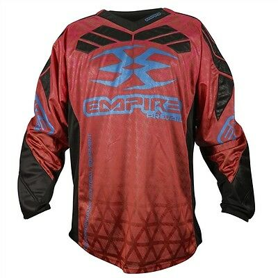 Empire Prevail F6 Jersey Red - Large - Paintball