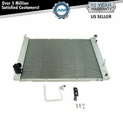 Radiator Assembly Aluminum Core w/ AC Condenser for Infiniti G25 G37 Nissan 370Z