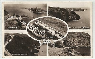 lo channel islands postcard sark