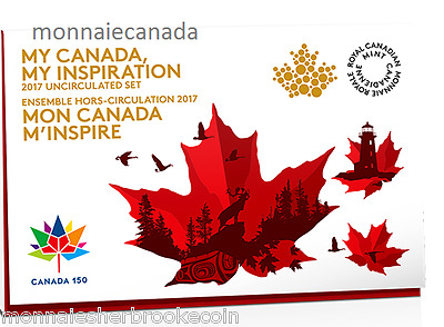 2017 Canada Uncirculated Set - Proof Like Set - My Inspiration - E403
