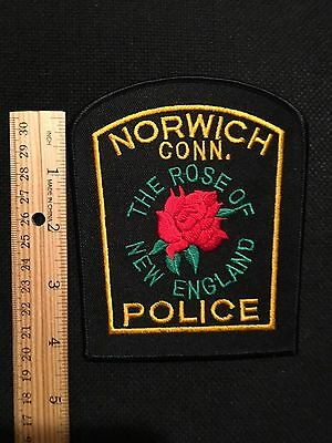 Norwich  Connecticut  Police  Shoulder Patch