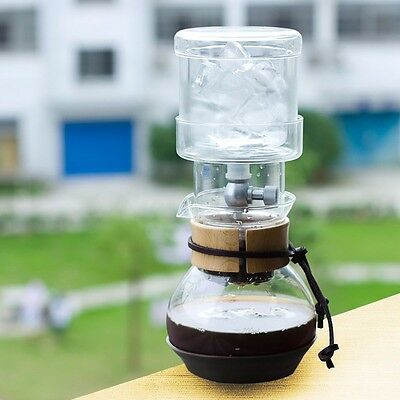 400ml Dutch Cold Drip Water Drip Coffee Maker Ice Glass Brew Machine Home Office