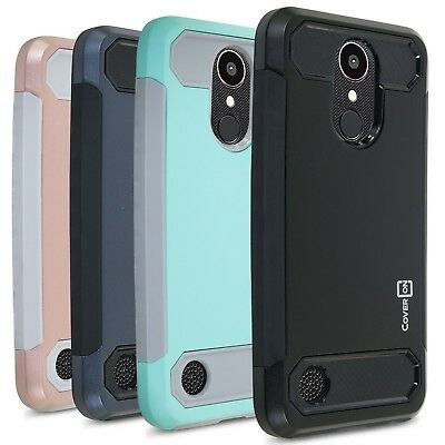 CoverON Arc Series Hybrid Carbon Fiber For LG K20 Plus / K20 V / K20V Case