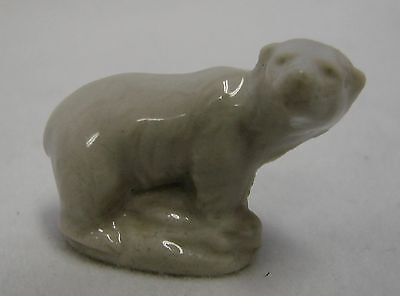 Vintage Wade Miniature Porcelain Red Rose Tea Polar Bear Figurine Collectible