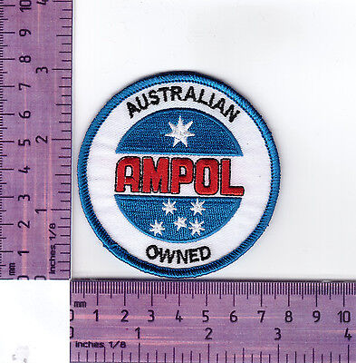 Ampol Australian  Oil Company Logo Embroidered Badge /Cloth Patch