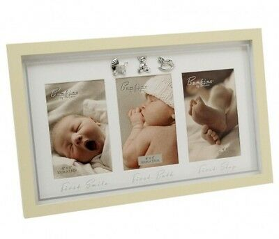 Bambino By Juliana First Smile Bath Step Photo Frame New Baby / Christening Gift