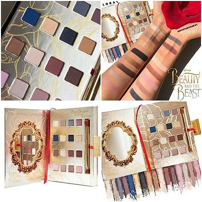 2017 Newest Lorac Disney Beauty and the Beast PRO Eye Shadow Palette Make-Up Ang