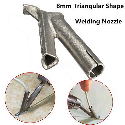8mm Triangle Welding Mouth Speed Nozzle Tip for Hot Air Plastic Welding Machine