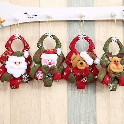 Multi Xmas Craft Ornaments Festival Party Christmas Tree Hanging Home Decor Gift
