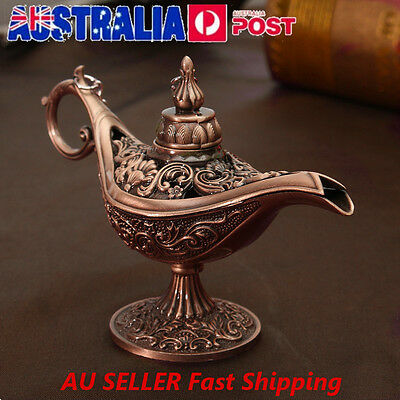 Mini Legend Aladdin Magic Genie Light Wishing Oil Collectable Light Lamp
