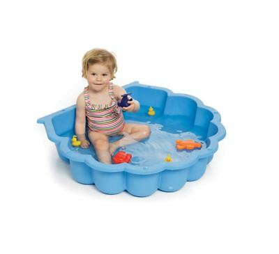 Single, Double Shell Sandpit & Pool Green, Red, Yellow, Blue