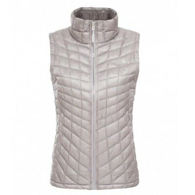 The North Face Damen Thermoball Weste metallic silver