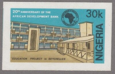 Nigeria 4746 - 1984 20th Anniv Development Bank  IMPERF MACHINE PROOF of 30k