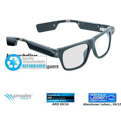 Kamera Brillen: Smart Glasses SG-100.bt (refurbished) (Sonnenbrille Kameras)