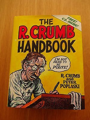 Brand New THE R.CRUMB HANDBOOK with CD