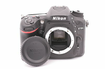 Nikon D D7100 24.1MP Digital SLR Camera - Black (Body Only) - Shutter Count: 504