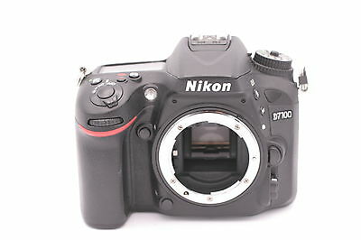 Nikon D D7100 24.1MP Digital SLR Camera - Black (Body Only) - Shutter Count: 827