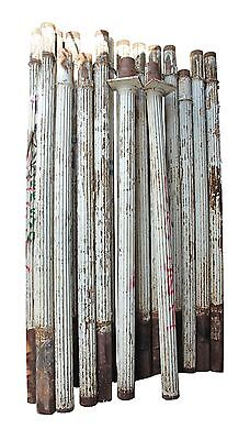 Turn of the Century Fluted Cast Iron Structural Columns
