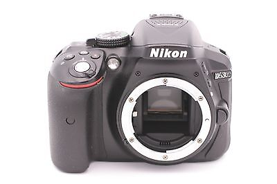 Nikon D D5300 24.2MP Digital SLR Camera - Black (Body Only) - Shutter Count:1391