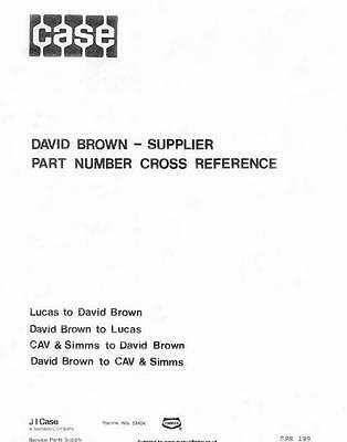 david brown 990 manual pdf