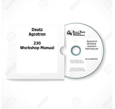 Deutz Agrotron 230 260 Workshop Manual Digital