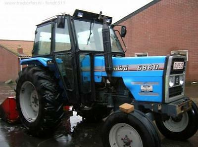 Landini 5860 to 9880 Workshop  Manual Printed
