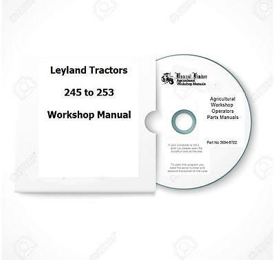 Leyland 245 253 Workshop  Manual Digital