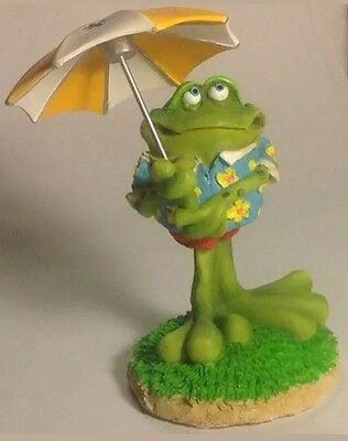 RUSS TOADILY YOURS BOBBLING  FROG FIGURINE Bobble Toad new FREE shipping