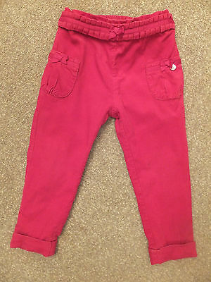 Mayoral baby girls berry red corduroy trousers Age 2 y / 24 m