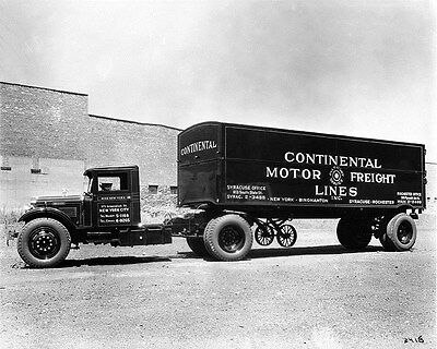 1932 Brockway 100 Continental Motor Freight Truck ORIGINAL Factory Photo wy1830