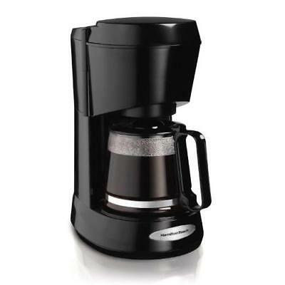 Hamilton Beach Coffee Maker with Glass Carafe, 5-Cup (48136) New