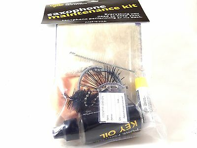 Herco Saxophone Maintenance Kit Everything Needed Keep Your Sax Performing Well