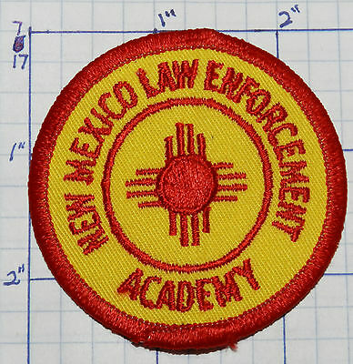 New Mexico Law Enforcement Academy Patch