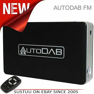 C2 AutoDAB FM Universal In Car Adaptor DAB/DAB+ Digital Radio/FM 1YEAR WARRANTY