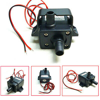 12VDC3m 240L/H Ultra Quiet ABS Brushless Motor Submersible Pool Water Pump Solar