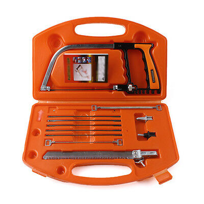 11-in-1 Universal Saw Hand DIY Home Tools Kit Steel Glass Wood Working Cutting #
