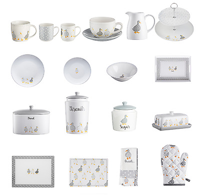 Madison Duck Mugs Cup &Saucer Cake Stand Tray Placemats Plates Bowl Kitchenware