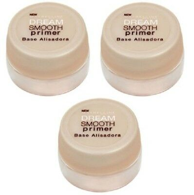 2 x MAYBELLINE 7mL DREAM SMOOTH PRIMER BASE ALISADORA 100% Brand New