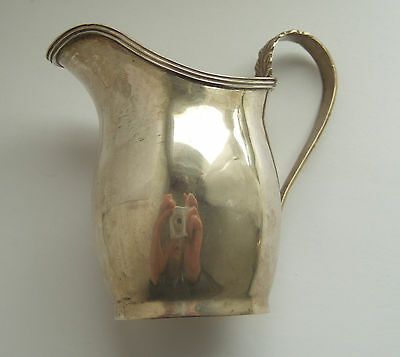 Sterling Silver Cream Jug, Chester Hallmark Dated 1908 by GNRH, 60g