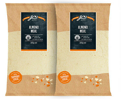 2 x J.C's Almond Meal 300g