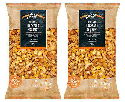 2 x J.C's Original Backyard BBQ Mix 375g