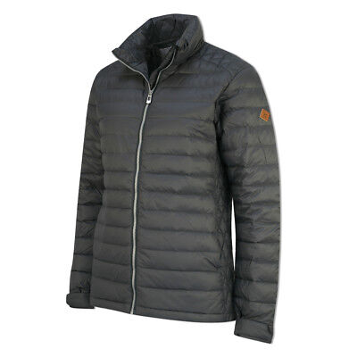 Cross Down Jacket with Shaped Fit