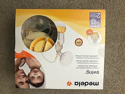 Medela Swing Electric 2-Phase Breastpump In Box With Instructions