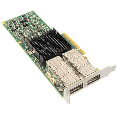 Mellanox ConnectX-2 Dual-Port QSFP IB PCIe x8 LP - MHRH2A-XSR