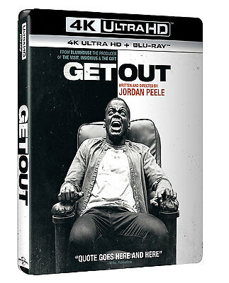 Scappa - Get Out  Blu-Ray 4K Ultra Hd+Blu-Ray    Horror