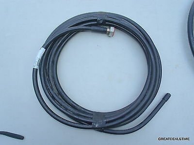 "1/2 inch CELLFLEX Coaxial Cable RFS SCF12-50J / 30' W/ ENDS 1/2"" #WIRE 30 FEET"