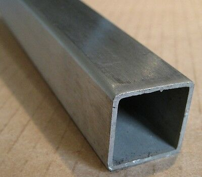 "|Lot of 3| 3/4"" 0.75"" x 36"" 0.062"" Wall 304 Stainless Steel Square Tube 16 Gauge"