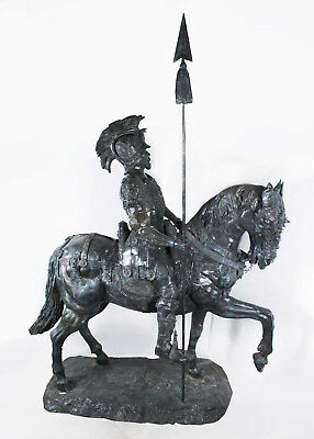 Life Size Roman Armoured Cavalry Officer on Horseback