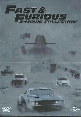 Fast and furious 1-8 (2017) 8 DVD