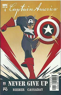 Captain America #4 (4Th Series) (Marvel Knights)  2002
